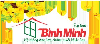Cửa lưới chống muỗi Bình Minh